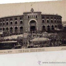 Postales: BARCELONA Nº 12/980 PLAZA DE TOROS ARENAS DE BARCELONA ZERKOWITZ ESCRITA SIN CIRCULAR AÑO 1927. Lote 33719615