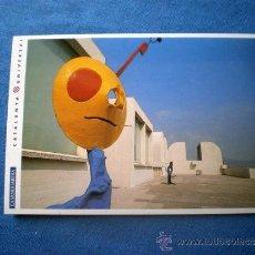 Postales: POSTAL CATALUNYA UNIVERSAL LA VANGUARDIA Nº 2-8 BARCELONA FUNDACION JOAN MIRO MONTJUIC. Lote 33734662