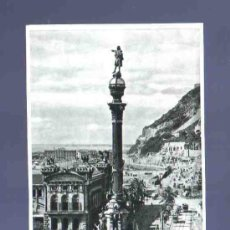 Postales: TARJETA POSTAL DE BARCELONA. 74. MONUMENTO A COLON. ZERKOWITZ. . Lote 33742718