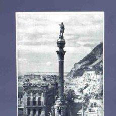 Postales: TARJETA POSTAL DE BARCELONA. 74. MONUMENTO A COLON. ZERKOWITZ. . Lote 33747517