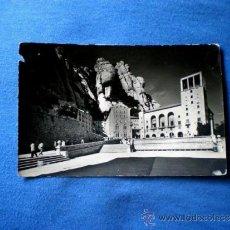 Postales: POSTAL MONTSERRAT PLAZA DEL MONASTERIO 1956 CIRCULADA. Lote 33753239