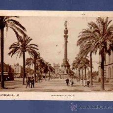 Postales: TARJETA POSTAL DE BARCELONA. 100. MONUMENTO A COLON. ZERKOWITZ. . Lote 33762677