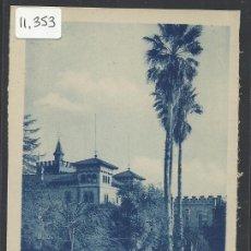 Postales: VILADECANS - 11 -JARDINES DEL AYUNTAMIENTO - ROISIN - (11.353). Lote 33771268