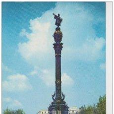 Postales: BARCELONA. MONUMENTO A CRISTOBAL COLON. Lote 33883839