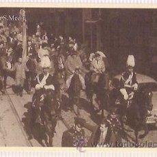 Cartes Postales: ANTIGUA POSTAL ROMERIA A SAN MEDIR GUARDIA A CABALLO GRACIA BARRIO. Lote 33969405