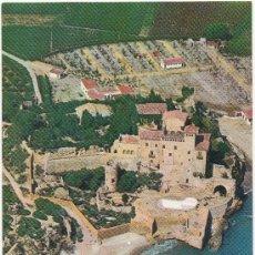 Postales: CASTILLO DE TAMARIT. VISTA AÉREA.. Lote 34024668