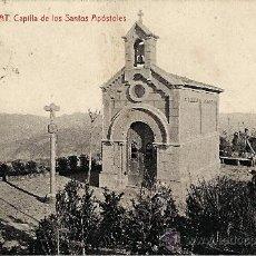 Postales: MONTSERRAT.CAPILLA DE LOS SANTOS APOSTOLES. Lote 34047737