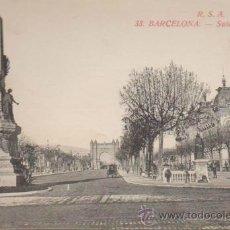 Postales: BARCELONA.- SALÓN DE SAN JUAN.. Lote 34121312
