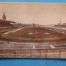 Postales: POSTAL DE BARCELONA. ESTADIO FÚTBOL. ESTADI MONTJUICH EN 1929 REPRODUCCION. 210 . Lote 34232871