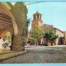Postales: PRADES. PORXOS DE LA PLAÇA MAJOR. FOTOGRAFISME. NO CIRCULADA 70'S. Lote 34235320