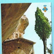 Postales: PRADES. ERMITA DE L'ABALLERA. FOTOGRAFISME. NO CIRCULADA 70'S. Lote 34235354