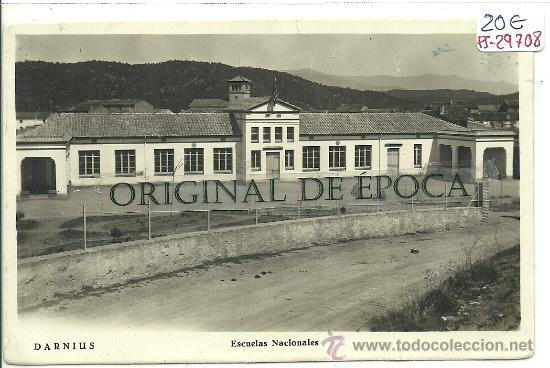 (PS-29708)POSTAL DE DARNIUS-ESCUELAS NACIONALES (Postales - España - Cataluña Moderna (desde 1940))