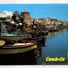 Postales: CAMBRILS PUERTO - TARRAGONA - EDICIÓN RAYMOND - POSTAL. Lote 34288458