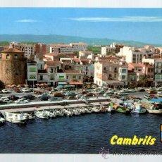 Postales: CAMBRILS PUERTO - TARRAGONA - EDICIÓN RAYMOND - POSTAL. Lote 34288518