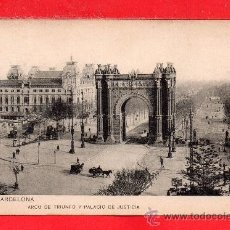 Postales: UNA BONITA POSTAL DE BARCELONA SIN EDICIÓN CIRCULADA VER FOTO ADICIONAL. Lote 34312071