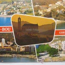 Postales: GIRONA (COSTA BRAVA), PORT BOU, CIRCULADA T2129. Lote 34319027