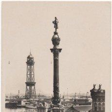 Postales: BARCELONA.- MONUMENT A COLOM.- MONUMENTO A COLÓN.. Lote 34350344