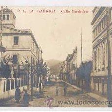 Postales: BARCELONA. LA GARRIGA. CALLE CARDEDEU. E R 14. POSTAL FOTOGRAFICA. CIRCULADA. Lote 34407966
