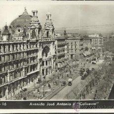 Postales: BARCELONA AV DE JOSE ANTONIO ESCRITA. Lote 34409705