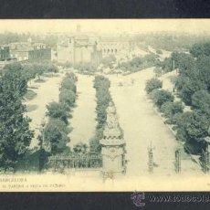 Postales: POSTAL DE BARCELONA: EL PARC A VISTA D' OCELL (THOMAS, LB NUM. 159). Lote 34455302