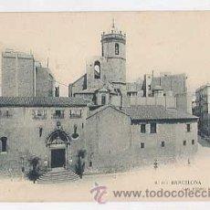 Postales: BARCELONA. SAN PEDRO DE LAS PUELLAS .THOMAS, LB. REVERSO SIN DIVIDIR. SIN CIRCULAR. Lote 34518928