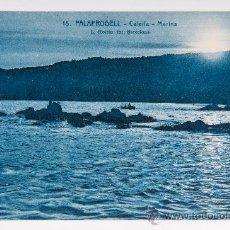 Postales: POSTAL DE PLAFRUGELL Nº 18, CALELLA-MARINA, FOTOGRAFIA VIRADA. Lote 34552676