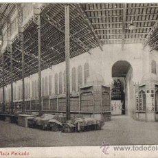 Postales: TARRASA (BARCELONA) PLAZA MERCADO. EDICION THOMAS. Lote 34617028