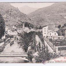 Postales: POSTAL DE RIBES, PASEO DE GUIMERA Y CHALETS, FOTOGRAFIA E BLANCO Y NEGRO. Lote 34638360