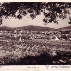 Postales: POSTAL FOTOGRAFICA DE BEGUES - VISTA GENERAL -- BARCELONA - R.GASSÓ. Lote 34747628