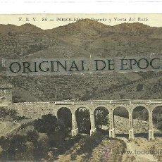 Postales: (PS-30078)POSTAL FOTOGRAFICA DE POBOLEDA-PUENTE Y VENTA DEL BUTE. Lote 34817630