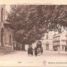 Postales: PUIGCERDA (GIRONA), PLAZA BARCELONA - PHOTOTYPIE LABOUCHE - SIN CIRCULAR. Lote 34928302