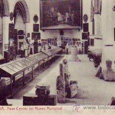 Postales: TORTOSA - NAVE CENTRAL DEL MUSEO MUNICIPAL. Lote 35166545