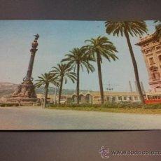 Postales: POSTAL BARCELONA PASEO COLON FOTO A. CAMPAÑÁ Y PUIG FERRÁN NO CIRCULADA. Lote 35204527