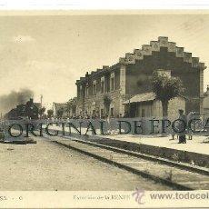 Postales: (PS-30430)POSTAL DE MOLLERUSA-ESTACION DE LA RENFE. Lote 35211957
