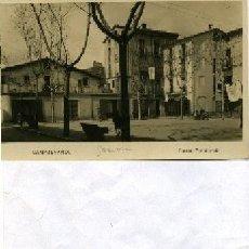 Postales: POSTAL FOTOGRAFICA CAMPDEVANOL (GERONA) , PLASSA CONSTANCIA. Lote 35316915