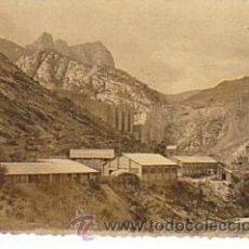 Postales: FOTOGRAFIA ORIGINAL DE LA PRESA EN CONTRUCCION DEL PANTANO DE OLIANA (LLEIDA) AÑOS 40/50. Lote 35360942