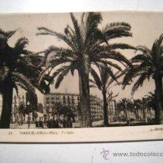 Postales: BARCELONA: PLAZA TETUAN. Lote 35409349