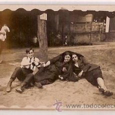 Postales: ANTIGUA POSTAL BAÑOS DE SAN SEBASTIAN BARCELONA . Lote 35419499