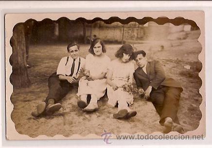 ANTIGUA POSTAL BAÑOS DE SAN SEBASTIAN BARCELONA CHIRINGUITO 1922 (Postales - España - Cataluña Antigua (hasta 1939))