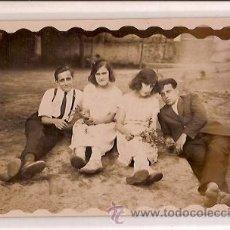 Postales: ANTIGUA POSTAL BAÑOS DE SAN SEBASTIAN BARCELONA CHIRINGUITO 1922 . Lote 35419517