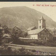 Postales: VALL DE BOHI - 18 - ESGLESIA DE BOHI - THOMAS - (12.869). Lote 35429355