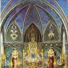 Postales: MATARÓ, COLEGIO VALLDEMIA, H.H. MARISTAS, ALTAR MAYOR - FOTOCOLOR VALMAN - SIN CIRCULAR. Lote 35472514