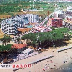 Postales: POSTAL PLAYA PINEDA SALOU TARRAGONA VER DESCRIPCION . Lote 35479300