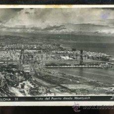 Postales: (A00253) BARCELONA - VISTA DEL PUERTO DESDE MONTJUICH - ZERKOWITZ Nº31. Lote 35515299