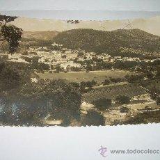 Postales: ANTIGUA POSTAL FOTOGRAFICA......SANTA CRUZ DE CABRILS - ALT 87 M. - VISTA GENERAL.. Lote 35535303