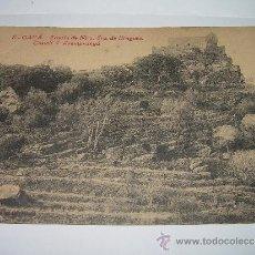 Postales: ANTIGUA POSTAL..GAVA....ERMITA DE NTRA.SRA. DE BRUGUES ..CASTELL D'ARAMPUNYA...AÑO 1923. Lote 35536865