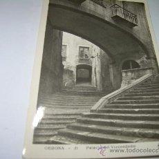 Postales: ANTIGUA POSTAL FOTOGRAFICA......GERONA....PALACIO DEL VIZCONDADO.. Lote 35537890