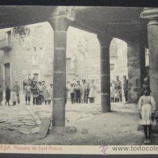Postales: TARREGA. PLASSETA SANT ANTONI. FOTOTIPIA THOMAS (4366). 14 X 9 CM. Lote 35538020