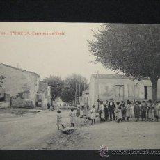 Postales: TARREGA. CARRETERA DE VERDU. FOTOTIPIA THOMAS (4365). 14 X 9 CM. SIN CIRCULAR. Lote 35538058