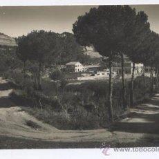 Postales: POSTAL ARGENTONA - CAMINO DE BURRIACH - FOTO A . GÜELL. Lote 35558100